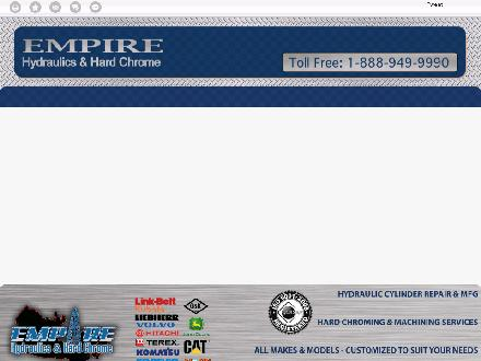 Empire Hydraulics &amp; Hard Chrome (780-401-9807) - Website thumbnail - http://empirehydraulics.ca