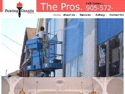 Painting Canada (289-975-4299) - Onglet de site Web - http://www.paintingcanada.com
