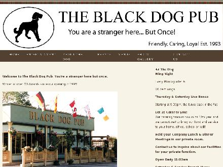 Black Dog Pub The (416-286-4544) - Website thumbnail - http://www.blackdogpub.tv