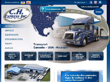 C H Express Inc (450-348-2350) - Website thumbnail - http://www.chexpressinc.com
