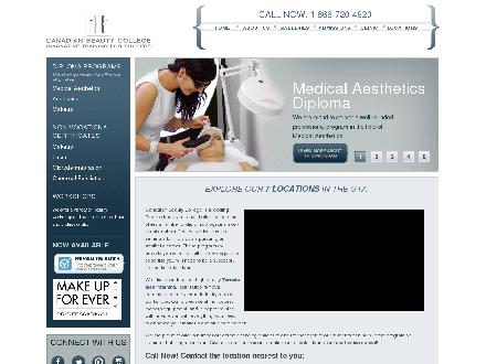 Canadian Beauty College (905-624-2700) - Website thumbnail - http://www.canadianbeautycollege.com