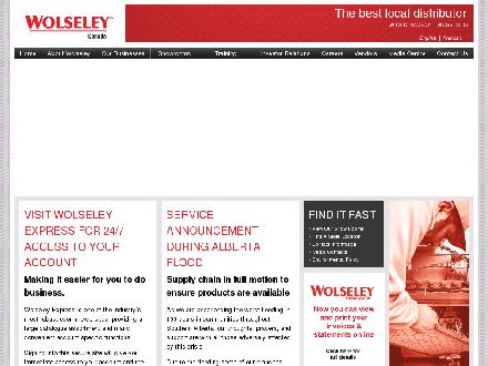 Wolseley Canada - Website thumbnail - http://www.wolseleyinc.ca