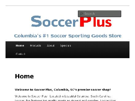 Soccerplus (604-951-0888) - Onglet de site Web - http://www.soccerplus.com