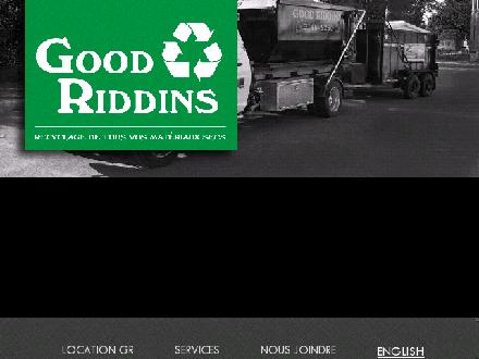 Good Riddins Inc (613-746-9260) - Onglet de site Web - http://www.goodriddins.ca