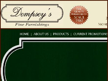Dempsey's Fine Furnishings (780-466-9357) - Website thumbnail - http://www.demseys.ca