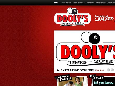Club D Lounge (506-582-0700) - Website thumbnail - http://doolys.ca