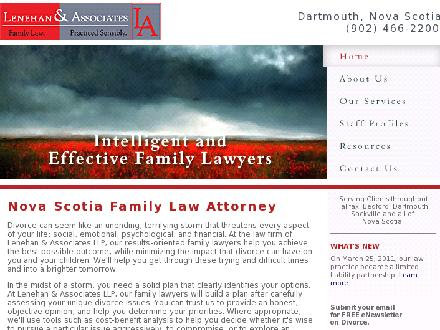 Lenehan and Associates (902-466-2200) - Website thumbnail - http://www.lenehanlaw.ca