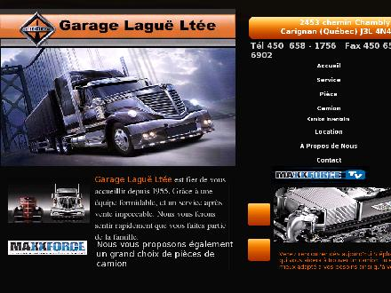Garage Lague Ltée (450-658-1756) - Onglet de site Web - http://www.garagelague.com