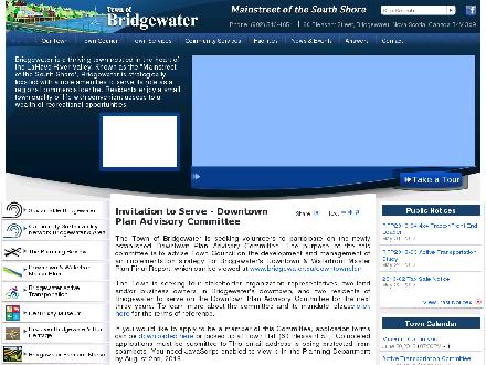 TOWN OF BRIDGEWATER (527-6278) - Onglet de site Web - http://www.bridgewater.ca