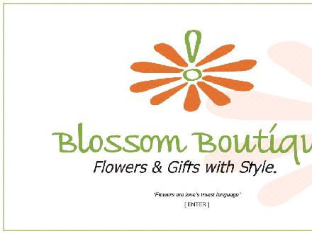 Blossom Boutique (905-954-0444) - Website thumbnail - http://www.blossomboutique.ca