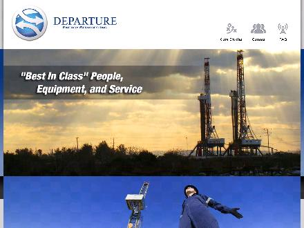 Departure Energy Services Inc (403-266-3940) - Onglet de site Web - http://www.departureenergy.com
