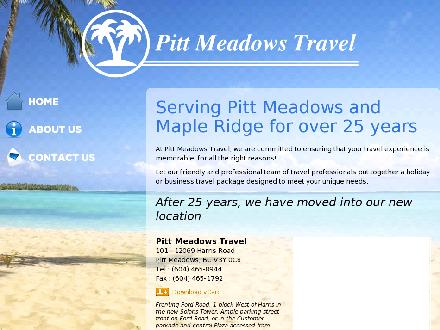 Pitt Meadows Travel (604-465-8944) - Website thumbnail - http://pittmeadowstravel.com/