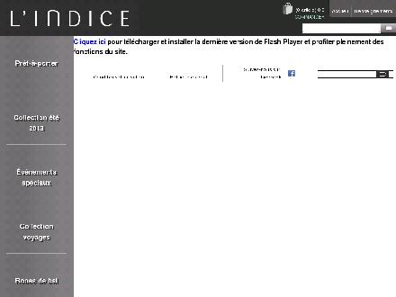 Indice Mode (L') (418-624-9330) - Website thumbnail - http://www.lindicemode.com