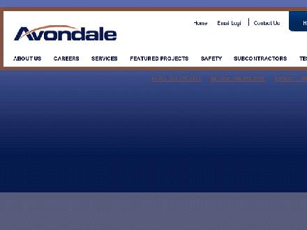 Avondale Construction (1-877-342-2399) - Website thumbnail - http://www.avondaleconstruction.com
