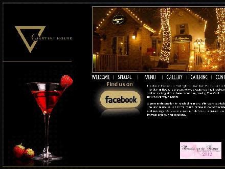Martini House (905-333-9553) - Website thumbnail - http://www.martinihouse.ca
