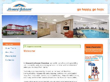 Howard Johnson Inn Moncton (506-384-1734) - Onglet de site Web - http://www.HoJoMoncton.com