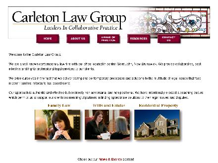 Carleton Law Group (1-855-224-8608) - Website thumbnail - http://www.carletonlawgroup.com