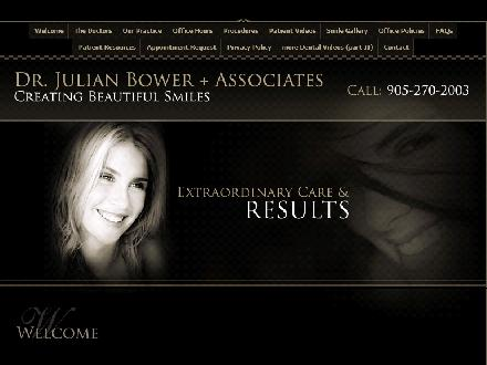 Bower Julian Dr (905-270-2003) - Onglet de site Web - http://www.drjulianbower.com
