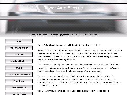 Tower Automotive Specialists (519-621-4610) - Website thumbnail - http://www.towerauto.aaro.ca