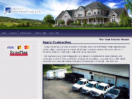 Apply Contracting Ltd (226-214-4653) - Onglet de site Web - http://www.applycontracting.ca