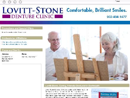 Lovitt-Stone Denture Clinic (902-434-1477) - Website thumbnail - http://lovitt-stonedentureclinic.ca/