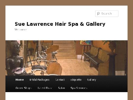 Sue Lawrence Hair Spa and Gallery (506-457-2922) - Onglet de site Web - http://www.suelawrencehairspaandgallery.com