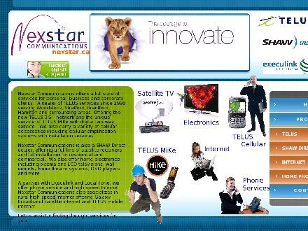 Nexstar Communications (519-271-9779) - Website thumbnail - http://www.nexstar.ca