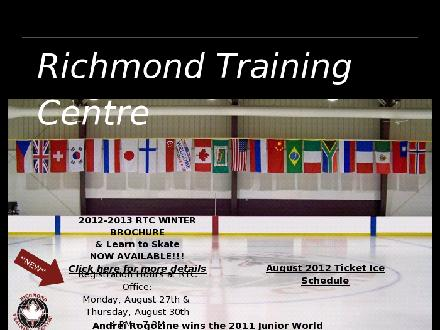 Richmond Training Centre (905-884-1361) - Onglet de site Web - http://www.richmondtc.com
