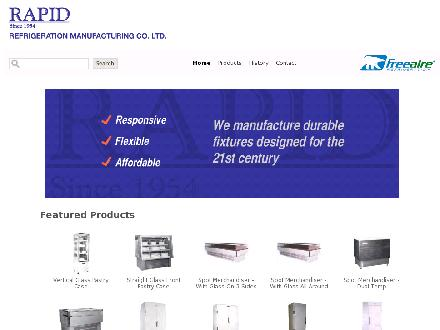 Rapid Refrigeration Mfg Co Limited (416-285-8282) - Onglet de site Web - http://www.rapidfridge.com