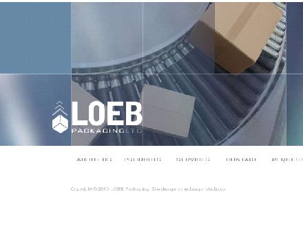 Loeb Packaging Ltd (613-746-8171) - Website thumbnail - http://www.capitalbox.com