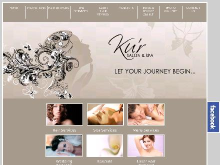 Ku'r Salon & Spa (226-214-4622) - Website thumbnail - http://www.kursalonandspa.com