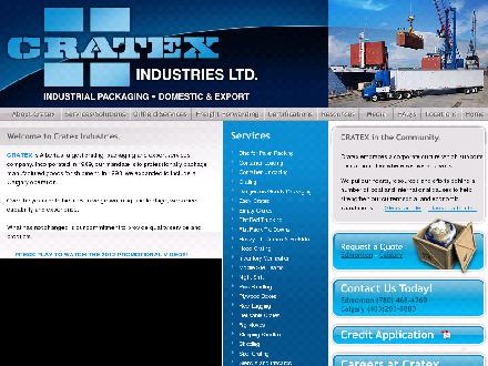 Cratex Industries Ltd (403-213-9104) - Onglet de site Web - http://www.cratexind.com