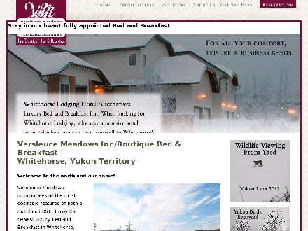 Versleuce Meadows Bed &amp; Breakfast (867-633-6221) - Onglet de site Web - http://www.yukonmeadows.com