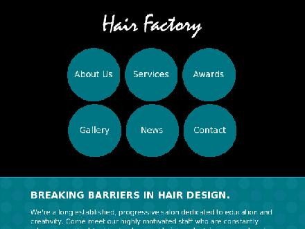 Hair Factory (709-726-4247) - Onglet de site Web - http://www.thehairfactory.ca