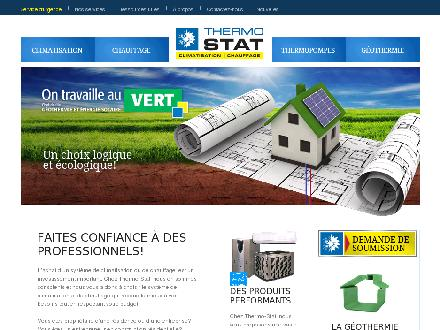 Thermo Stat Inc (450-434-6576) - Onglet de site Web - http://www.thermo-stat.ca
