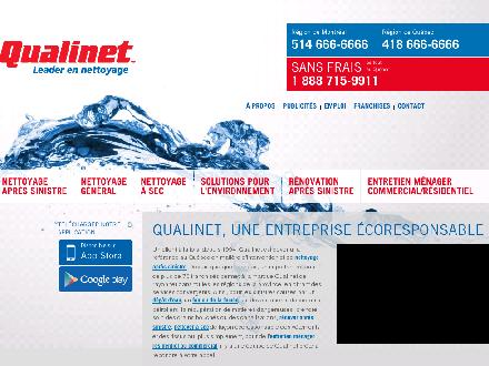 Groupe Qualinet (819-849-0770) - Website thumbnail - http://www.qualinet.ca