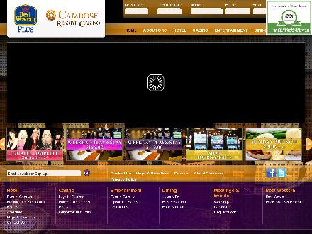 Camrose Resort Casino (780-679-0904) - Website thumbnail - http://www.camroseresortcasino.com