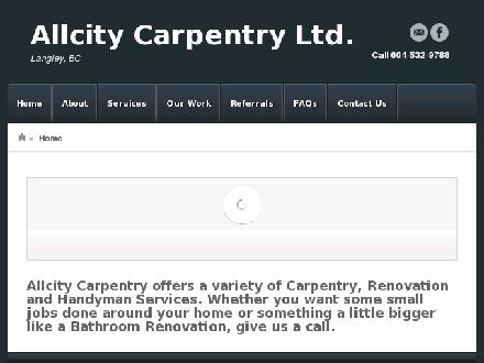 Allcity Carpentry Ltd (604-532-9788) - Onglet de site Web - http://www.allcitycarpentry.com