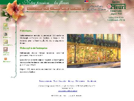 Au Salon Fleuri Inc (418-524-5218) - Website thumbnail - http://www.salonfleuri.com