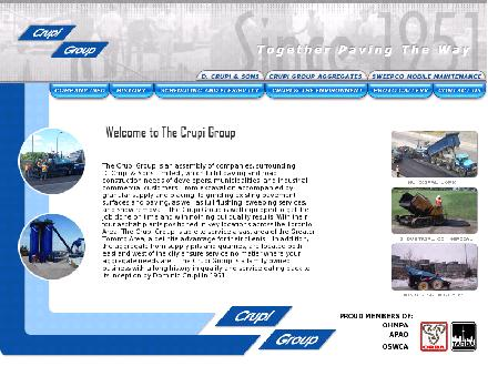 Crupi D & Sons Ltd (416-291-1986) - Onglet de site Web - http://www.crupigroup.com