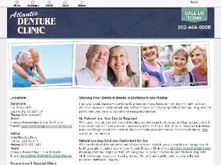 Atlantic Denture Clinic (902-704-2172) - Onglet de site Web - http://dentureshalifax.ca