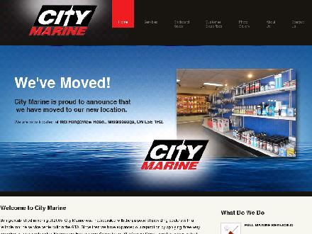 City Marine (416-207-0344) - Onglet de site Web - http://www.citymarinetoronto.com