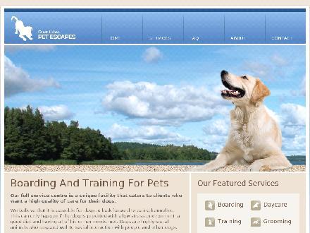 Great Urban Pet Escapes (604-541-4138) - Onglet de site Web - http://www.greaturbanpetescapes.com