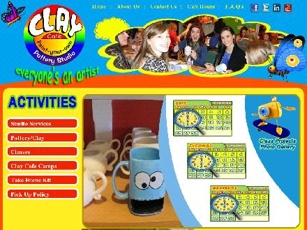 Clay Cafe Avalon (709-745-2345) - Website thumbnail - http://www.claycafeavalon.ca