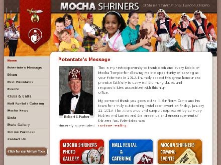Delectable Eats at the Mocha Shrine Centre (519-852-7054) - Website thumbnail - http://www.mochashriners.org