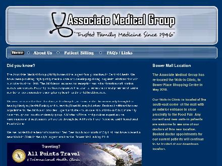 Associate Medical Group (403-346-2057) - Website thumbnail - http://www.associatemedicalgroup.com