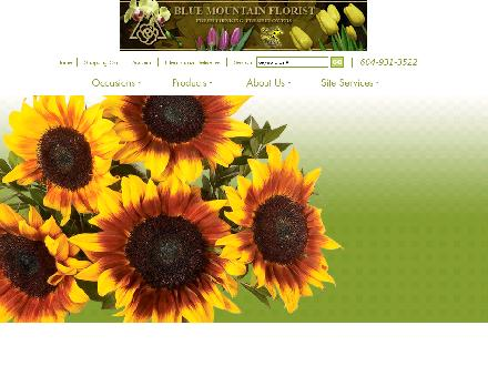 Blue Mountain Florist (604-931-3522) - Website thumbnail - http://www.bluemountainflorist.com