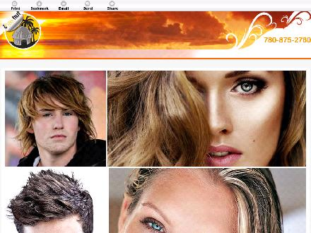 Hair Hut (780-875-2760) - Onglet de site Web - http://hairhutlloyd.ca