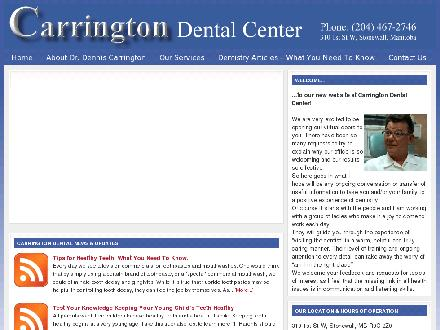Carrington Dental Center (1-888-322-4351) - Website thumbnail - http://www.carringtondentalcenter.ca