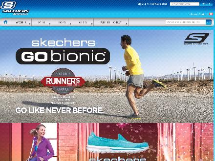 Skechers.com - Website thumbnail - http://www.ca.skechers.com